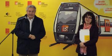 Els ferrocarrils es converteix en un nou espai per aprendre català