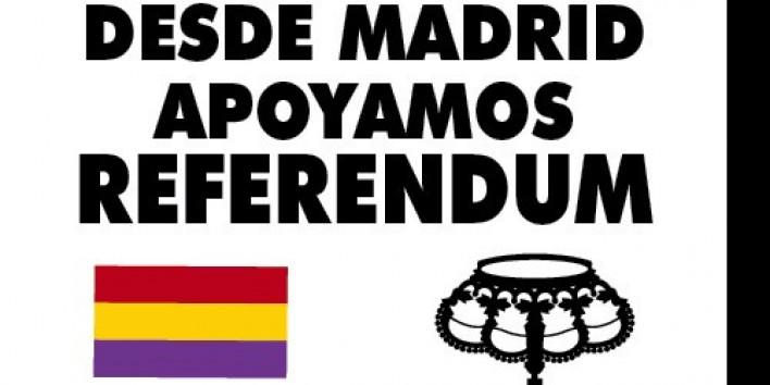 Madrid acollirà un acte de suport al referèndum de Catalunya el 17 de setembre