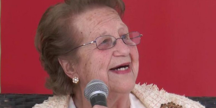 La periodista, escriptora i activista cultural, Didín Puig i Grau